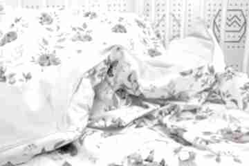 Miś i zajączek poszewka na pościel dla dziecka s 120 x 90 cm