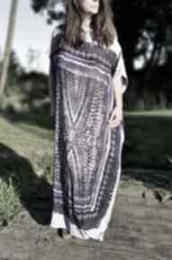Sukienka plażowa sukienki ququ design maxi, boho, na kostium