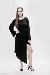 sukienki! Asymetryczna sukienka, tunika