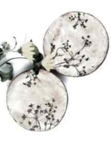 Patery ceramiczne ceramika polepione talerz, miska, dekoracje
