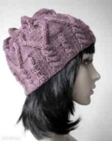 Serduszko czapki izabelaart1 awangardowa, ciepła,