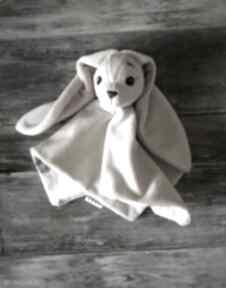 Przytulanka dla niemowlaka króliczek maskotki wnetrze z gustem