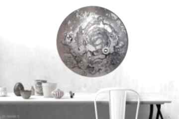 Krajobraz księżycowy 42 alexandra13 księżyc, tondo, planeta