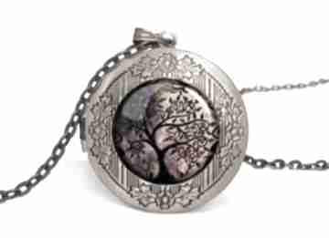Drzewo życia sekretnik łańcuszkiem naszyjnik drzewko prezent