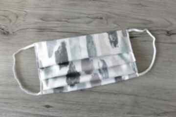 Maseczka bawełniana - pastelowe plamki maseczki torebki