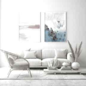Puder i laguna - zestaw plakatów 30x40 cm plakaty hogstudio
