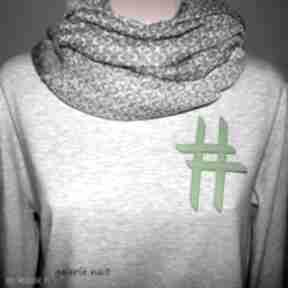 Hasztag # broszka zielona broszki galeria nuit młodzieżowa