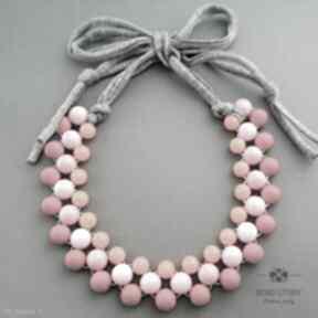 Candy korale bead story naszyjnik, wiosenny, kolorowy