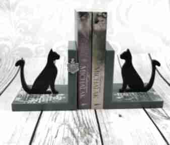 Podpórki pod książki koty dr27 dekoracje shiraja na książki,
