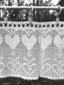 Rustykalne zazdroski szydełkowe-komplet nr 2 dekoracje