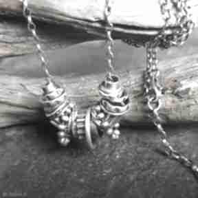 Naszyjnik srebrny naszyjniki treendy oksydowany, ze srebra