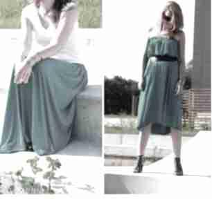 Spódnica sukienka długa maxi letnia zwiewna morska spódnice