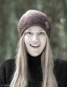Explorer perłowy bordo czapki brain inside czapka, zimowa, zima
