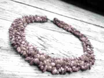 Naszyjnik z korala naszyjniki cynamonn koral, natura, na prezent