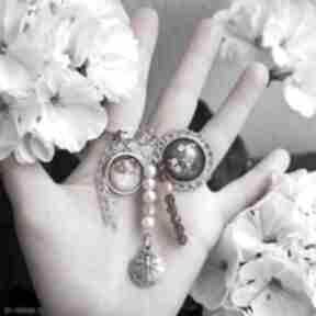 Breloczek - serce, kwiaty, ważka breloki liliarts breloczek