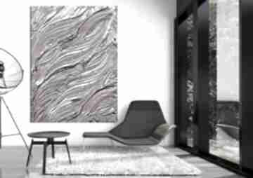 Liliowa fantazja - obraz na płótnie art and texture dekoracja