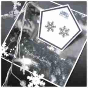 Śnieżynki na sztyfcie anna grys gwiazdki, śnieżynki, snowflakes