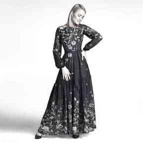 Sukienka delia maxi lorena sukienki livia clue maxi, długa