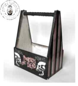Punks not dead - skrzynka na piwo pudełka makowa babuszka