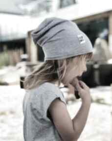 Brain Inside Czapka cienka KIDS szara