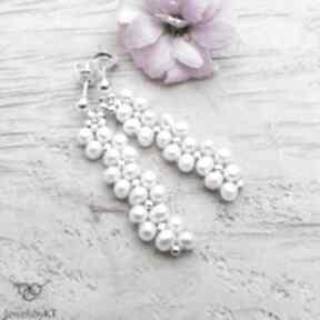 JewelsbyKTsrebrne-kolczyki wiszące-kolczyki kobieca-biżuteria