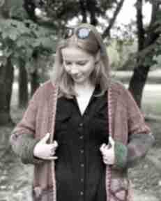 Multikolor kardigan swetry the wool art sweter, kardigan