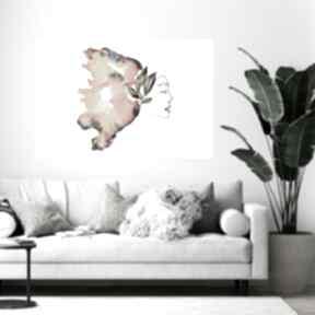 """Obraz - plakat 100x70cm """"kolor magii """" kof dekoracje-ścienne"""