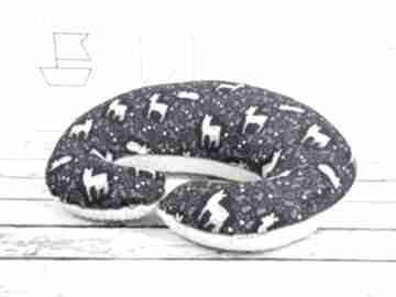 Duża poduszka do karmienia -sarenki granat dla dziecka nuvaart