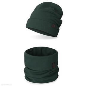 Komplet dziecięcy komin czapka ekoszale komplet, komin
