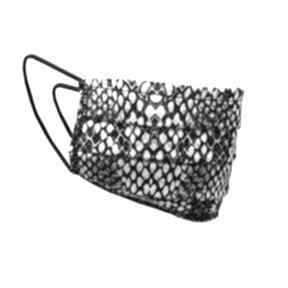 Maseczka dwuwarstwowa - wąż dodatki lanti urban fashion maseczki