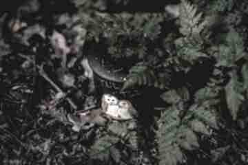 Kubek artystyczny z zaparzaczem - zakochane sowy kubki pracownia