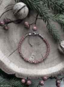 Pomysł na prezent święta: Bransoletka z czerwonym jadeitem reveal