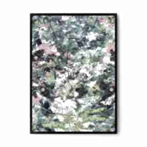 Plakat obraz abstrakcja #2 50x70 cm b2 plakaty hogstudio obraz