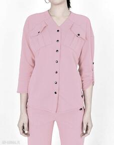 Koszula gaja różowa bluzki trzyforu bluzki, sukienki, koszulka
