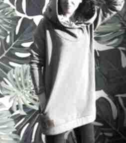 Oversize bluza hoodie ogromny kaptur monstera s bluzy agagu