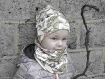 BamBi: czapka-z-kominem zestaw-z-czapką czapka-na-jesień