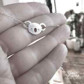 Anna grys koala, bransoletka, srebrna, aniagrys, miś