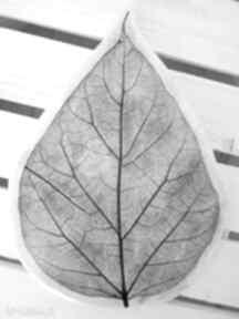 Ceramika Ana: patera ceramiczna liść talerz ceramiczny