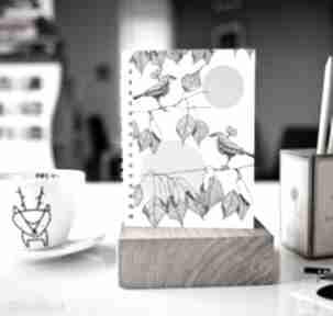 notesy? notes skoroszyt zeszyt ptaki a5 natura
