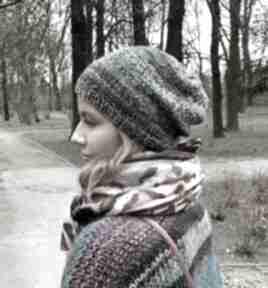 The Wool Art? lekka czapka z merino na wiosnę