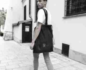 MONEST ATELIER torba worek czarny