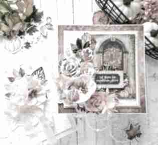 Jesienna kartka w ozdobnym pudełku scrapbooking kartki made by
