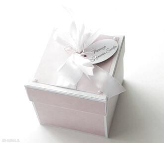 Pomysł na świąteczne prezenty. Kartka pudełko prezent pierwsza