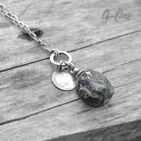 naszyjniki: szkło-z-afganistanu szkło-antyczne srebro