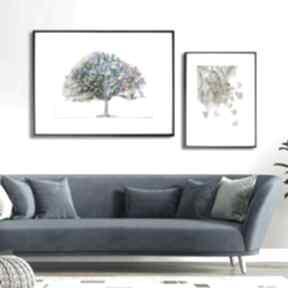 Renata Bulkszasdrzewo grafika-drzewo nowoczesne z-drzewem