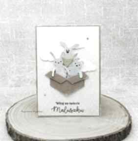 Witaj na świecie - kartka dla maluszka 2 scrapbooking kartki