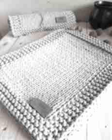 Podkładki sieplecie podkładka, stół, z włóczki