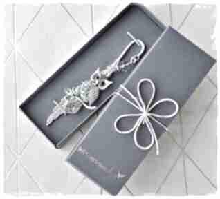 Elegancki prezent - zakładka do książki sowa zakładki