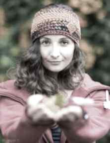 Opaska jesień opaski brain inside opaska, zima, wełniana, jesień