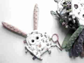Uszak metkowiec - ptaszki zabawki maly artysta gryzak, metki,